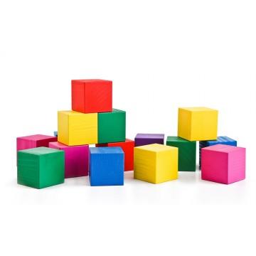 Кубики цветные. Томик.