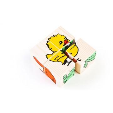 Кубики «Сложи рисунок:...