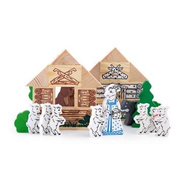 Конструктор «Сказки: Волк и семеро козлят»