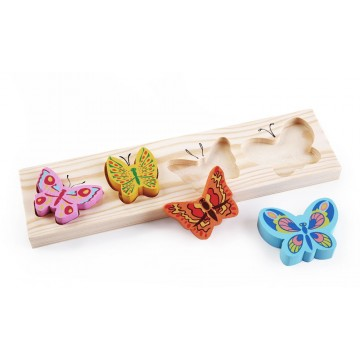 Доска-вкладыш «Бабочки»