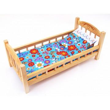 Кукольная кроватка большая (К3)