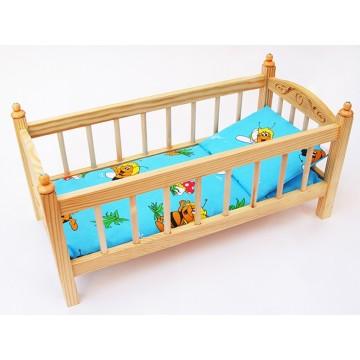 Кукольная кроватка большая (К4)