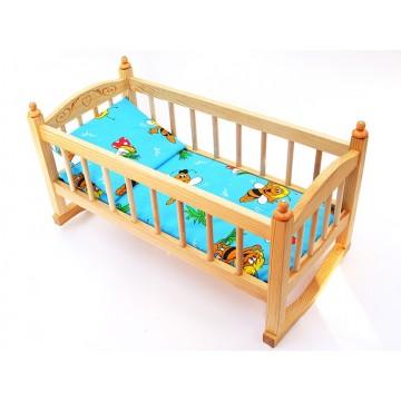 Кукольная кроватка-качалка (К5)