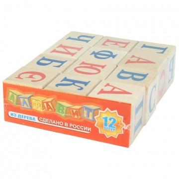 Кубики «Алфавит русский» -...