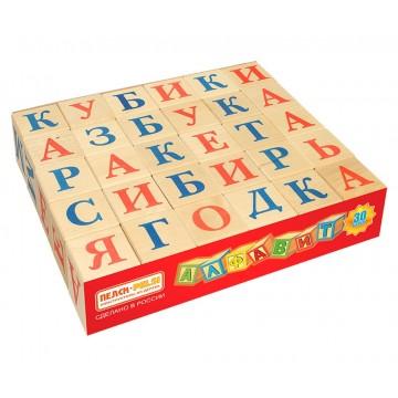 Кубики «Алфавит русский» - 30 шт