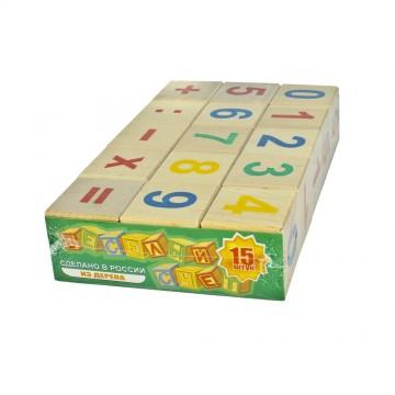 Кубики «Весёлый счёт» - 15 шт