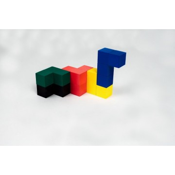 Кубики для всех (цветная коробка)