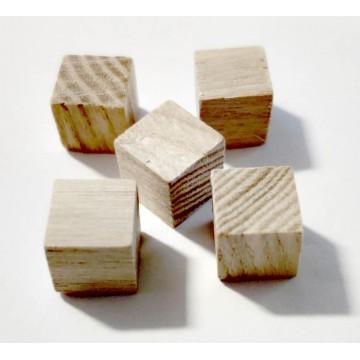 Деревянные кубики (1 см)