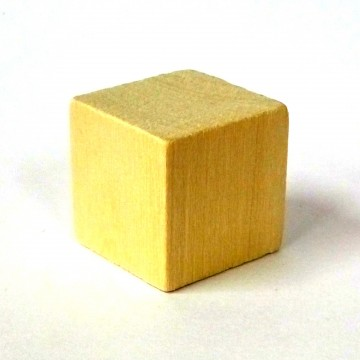 Деревянные кубики (2 см)