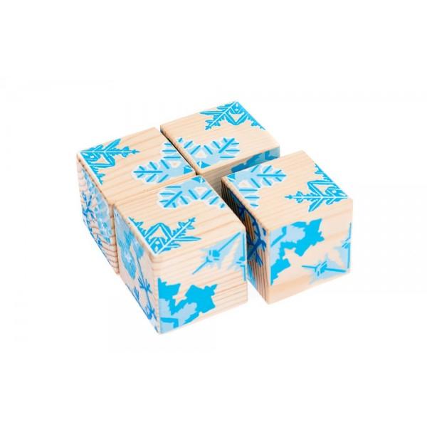Кубики «Снежинки»