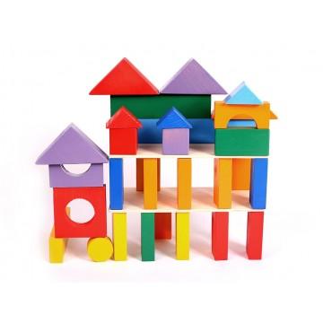 Конструктор геометрический «Построй свой город» 35