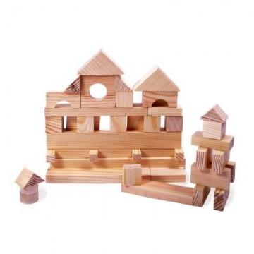 Конструктор геометрический «Построй свой город» 51 (неокрашенный)