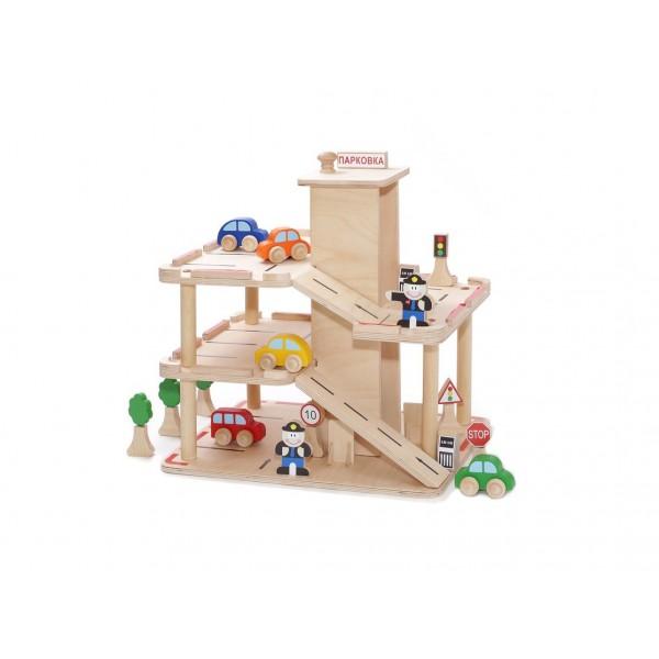 Парковка (с комплектом игрушек)