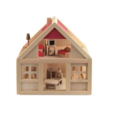 Кукольный дом без мебели