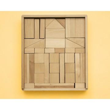 Деревянный конструктор «Берёзовый домик»