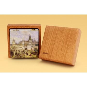 Кубики с картинками «Виды Московского Кремля»