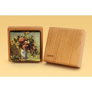 Кубики с картинками «Цветы»