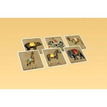 Кубики с картинками «Цирк. Животные»