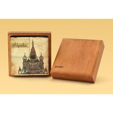 Кубики с картинками «Храмы России»