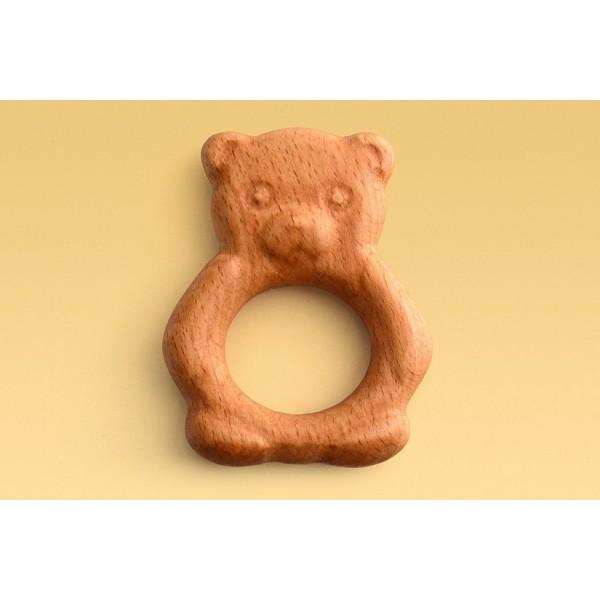 Погремушка-Грызунок «Мишка»