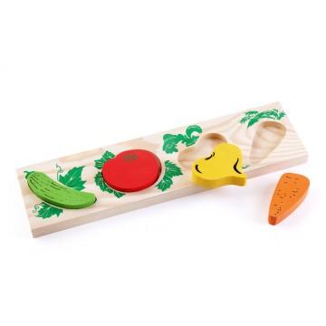 Доска-вкладыш «Овощи»