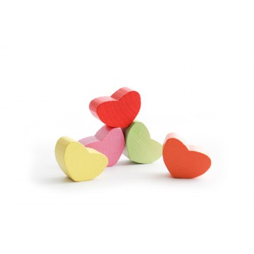 Логический игровой набор «Сердечки»