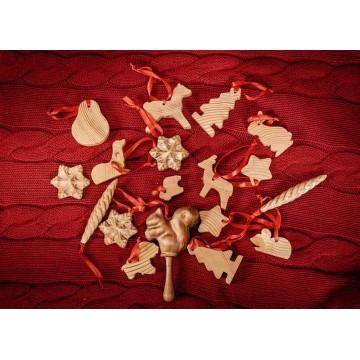 Набор ёлочных игрушек «Красный»