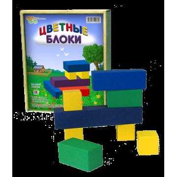 Игра «Цветные блоки»